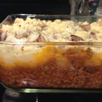 Beef and Lentil Shepard's Pie