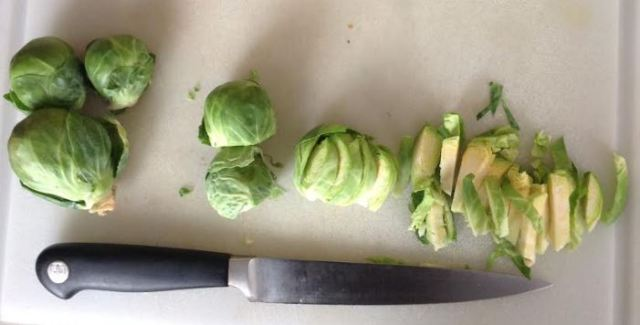 process for cutting shaved brussels sprouts.JPG