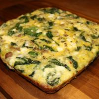 Spinach, Sausage, and Leek Breakfast Bake