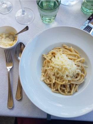 cacio e pepe tuscany pasta