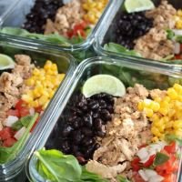 Chipotle Chicken Burrito Bowl Lunches