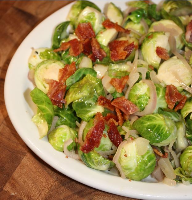 cider braised brussels sprouts with bacon_4