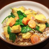 Coconut Curried Chicken with Veggies
