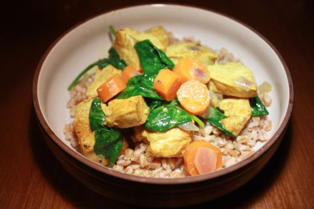 coconut curried chicken with veggies_2