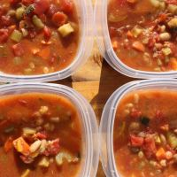Make-Ahead Minestrone Soup