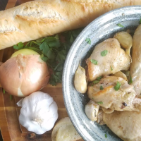The Chicken with 40 Cloves of Garlic Experiment