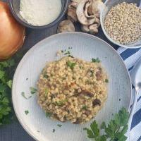 Mushroom Barley Risotto [Instant Pot]