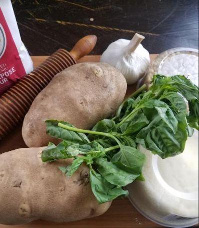 pesto gnocchi ingredients