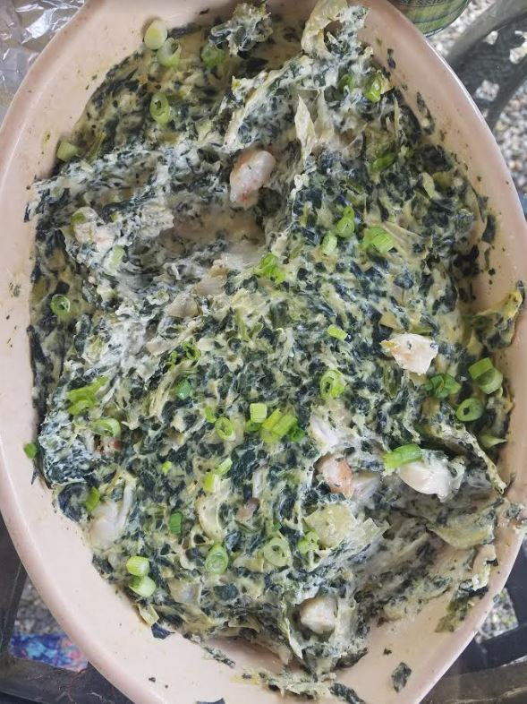 spinach artichoke and shrimp dip 2