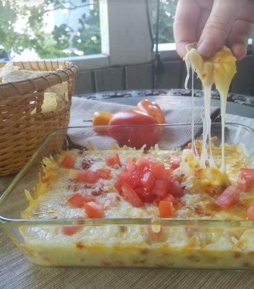 fundity chrizo and pepper hot cheesy dip 2.JPG