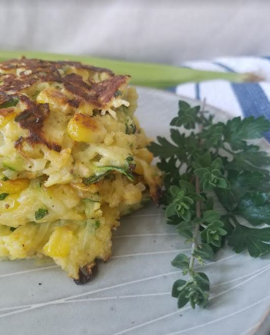zucchini and corn fritters _2.JPG
