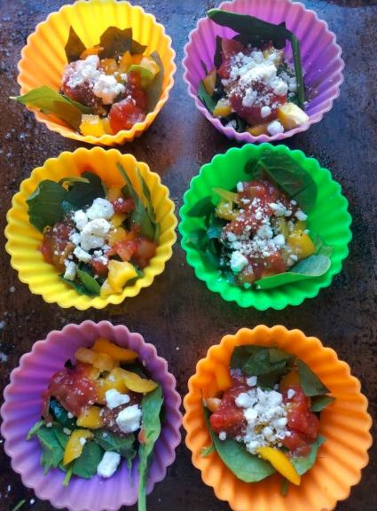 salsa and spinach egg muffins make ahead breakfast_3.JPG