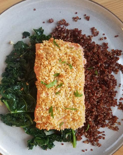 Parmesan Cashew Crusted Salmon with Quinoa and Kale.png